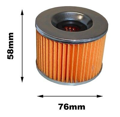 For Kawasaki GPX 600 R ZX600C7 Oil Filter 1994