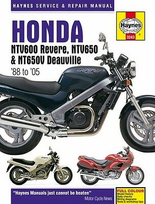 NEW Haynes Manual For Honda NTV600 Revere,NTV650,NT650 Deauville 1988-2005