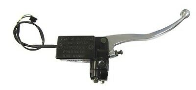 """Master Cylinder Rectangle 1/2""""For Yamaha Style,Silver Lever"""
