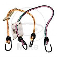 Bungee Strap 10 X 500 Mm Luggage - With 2 steel hooks Length: