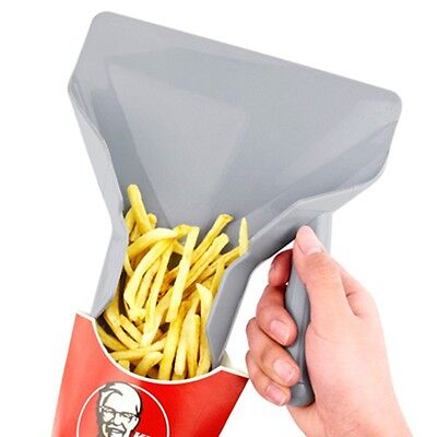 3 Types Chips Scoop Food French Fries Shovel Fry Left Double Right Grip Kitchen