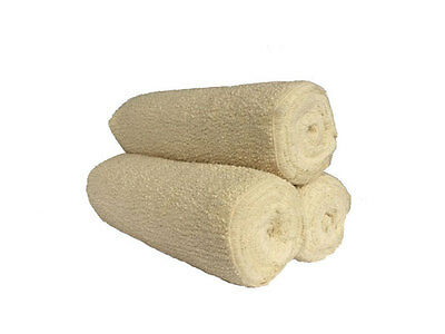 3 Contouring Body Wrap Bandages (Crepe) 15cm*4.5m with Fastening Clips