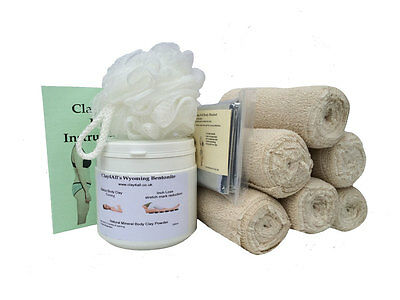toning/cellulite/inch loss/DETOXING BODY WRAP 500ml With 6 Contour Bandages