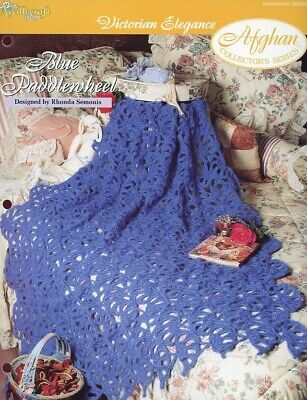 Crochet Pattern Victorian Lace Afghan Instructions 100