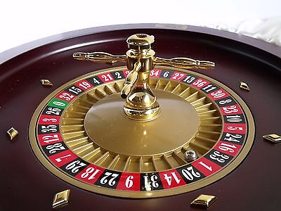 """Dal Rossi Italy Roulette Wheel  (20"""") Similate the real Deal!"""