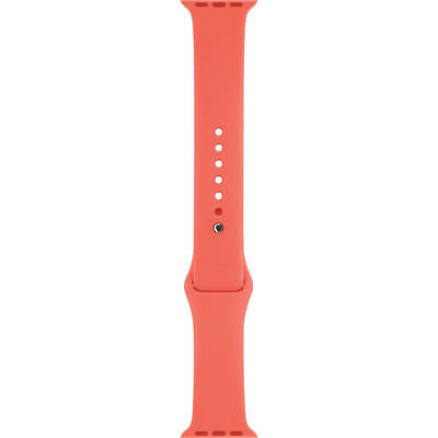 Genuine Apple Watch Sport Band MJ4T2ZM/A - 42mm, Pink, Stainless Steel Pin - VG