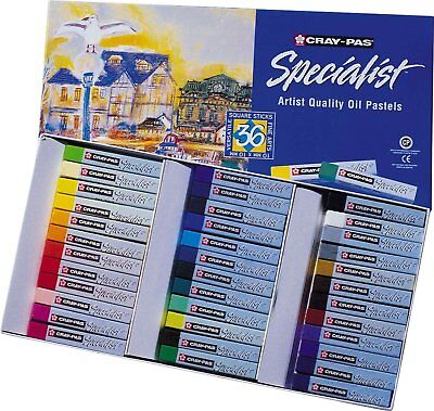 Cray-Pas Specialist Oil Pastel 36 Assorted