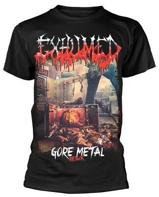 Exhumed 'Gore Metal Redux' T-Shirt - NEW & OFFICIAL!