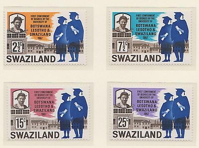 (ZE-18) 1967 Swaziland 4set UNI degrees MUH