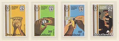 (ZE-44) 1981 Swaziland 4set Edinburgh awards MUH