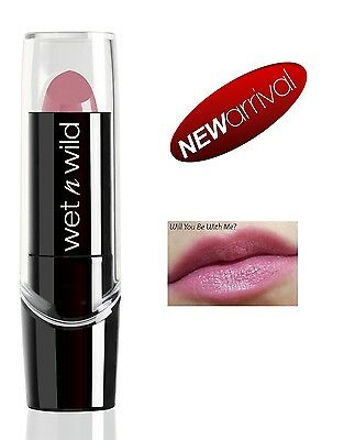 WET N WILD Silk Finish Lipstick (Will You Be With Me?) NEU&OVP