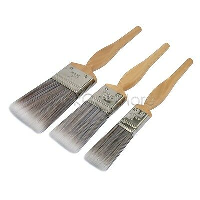 6 x 25mm 38mm 50mm Painter Synthetic Oil Paint Brushes Set Wall Art Decor OZ MX