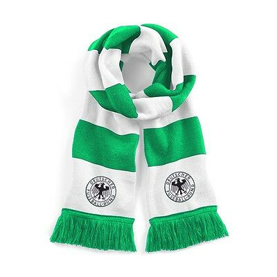 Retro West Germany Away Traditional Football Scarf Embroidered Logo