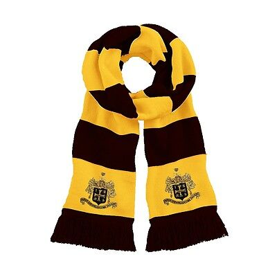 Retro Wolverhampton Wanderers 1940s Traditional  Football Scarf Embroidered Logo