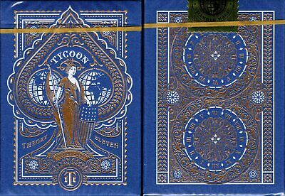 Tycoon Ming Blue Deck Playing Cards Poker Size USPCC Theory 11 Limited Edition