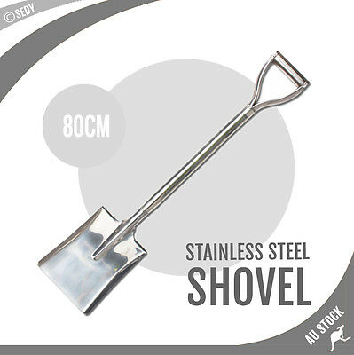 """80cm 32"""" Stainless Steel Shovel Off Road Recovery Tool Camping 4WD 4X4 BRAND NEW"""