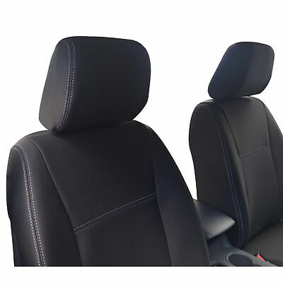 Fits Mazda BT-50 BT50 (Oct 15-Now) FRONT Premium Tough Neoprene Seat Covers