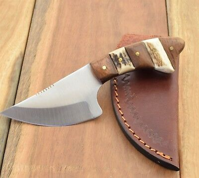Steel Stag Hunter Knife Hunting Knives Drop Point Wedge Survival Bush SS7014