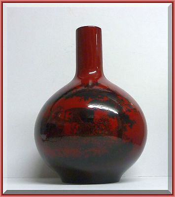 Royal Doulton Flambe vase