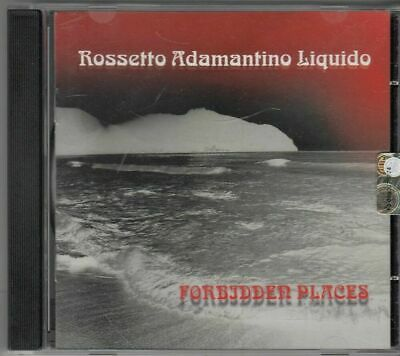 FORBIDDEN PLACES. Rossetto Adamantino Liquido CD Audio Musicale