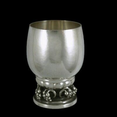 Georg Jensen. Sterling Silver Grape Cup #296D.