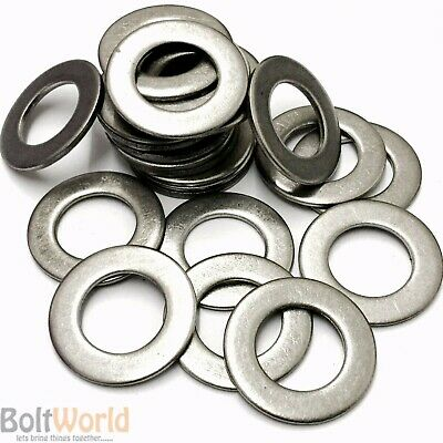 M6 Stainless Steel A2 Form B Flat Washers For Metric Bolts And Screws Din125B