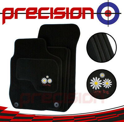 VW Volkswagen Beetle (1999-2012) Fitted Tailored Car Mats Daisy Logo