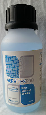 VerritexPro Concentrate 500m Acid Free glass cleaner greenhouse window house