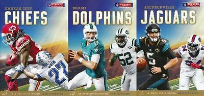 * ALL 3 x 2015 NFL AMERICAN FOOTBALL MATCHES AT WEMBLEY - OFFICIAL PROGRAMMES *