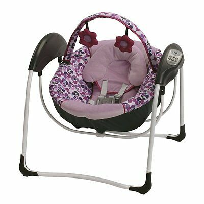 Graco Baby Glider Petite Portable Gliding Swing - Pammie - New! Free Shipping!!!