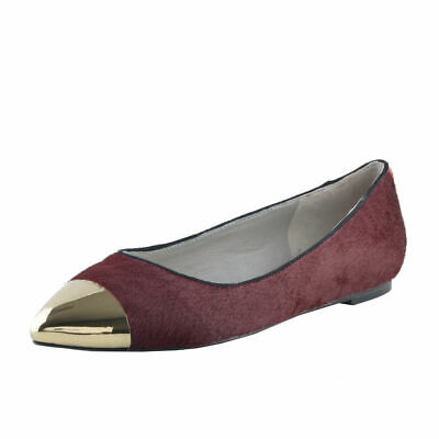 Viktor /& Rolf Women/'s Pony Hair Leather Loafers Shoes Sz 6 7 7.5 8 9 9.5 10