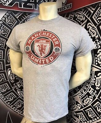 e00a04bac71 Manchester United England Red Devils Gray 2019 Practice Shirt NEW S M L XL  2XL
