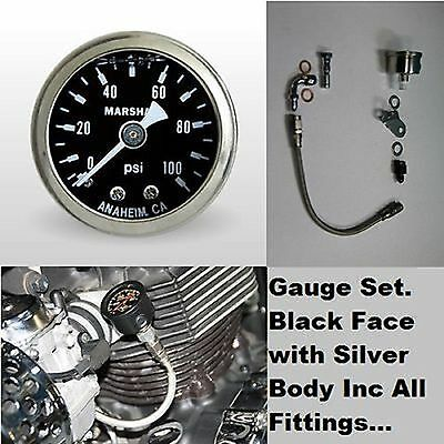 OIL PRESSURE GAUGE KIT  No1 TRIUMPH America Speedmaster T100 Thruxton