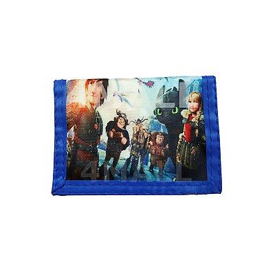 Kids Boys Coin Purse Wallet Gift How to Train Your Dragon Night Fury Billfold