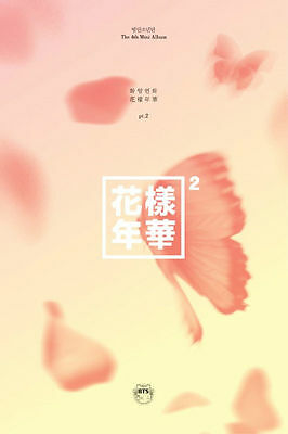 BTS - In The Mood For Love PT.2 PEACH VER(4th Mini Album) CD+Booklet+Photocard