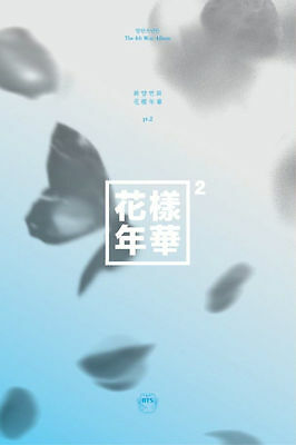 BTS - In The Mood For Love PT.2 BLUE VER(4th Mini Album) CD+Booklet+Photocard