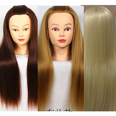 "Salon Cosmetology Hair Hairdressing Practice Training 18""Head Mannequin"
