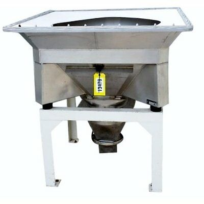 Used Vibrating Stainless Bulk Bag Unloader - Manufactured By Control & Metering