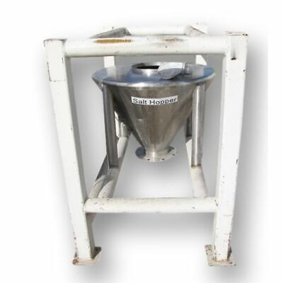Used 24 Cu Ft. Stainless Steel Hopper