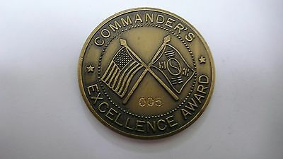 COMMAND EXCELLENCE AWARD 194th MAIN. BAT. CAMP HUMPHREYS KOREA CHALLENGE COIN