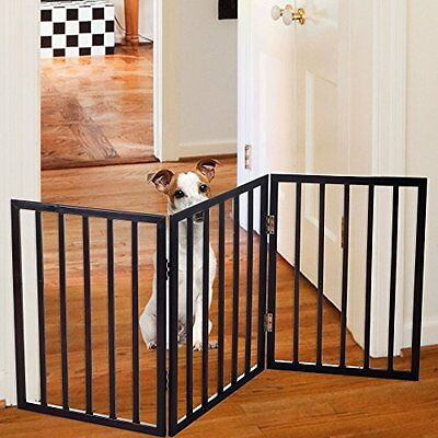 NEW Easy Up Free Standing Folding Baby Pet Gate FREE SHIPPING