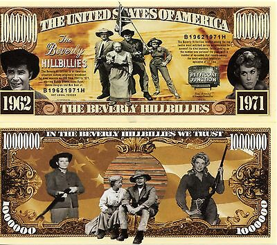 The Beverly Hillbillies TV Series Million Dollar Novelty Money
