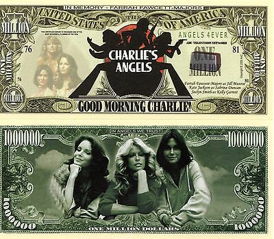 Charlie's Angels TV Series Million Dollar Novelty Money