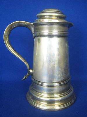 Antique MERIDEN S.P. Co. Silverplate 42 oz Ice Water Pitcher w/Lid