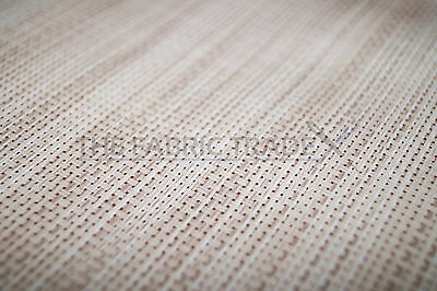 Wipe Clean Natural Hessian Pvc Tablecloth Vinyl Oilcloth Fabric Covering Patio