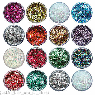 Professional SNAZAROO GLITTER GEL 12ml Makeup Fancy Dress Face Paint Halloween