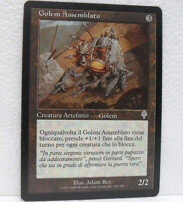 Magic Golem Assemblato It Creatura Artefatto Golem Non Comune Incolore Invasione