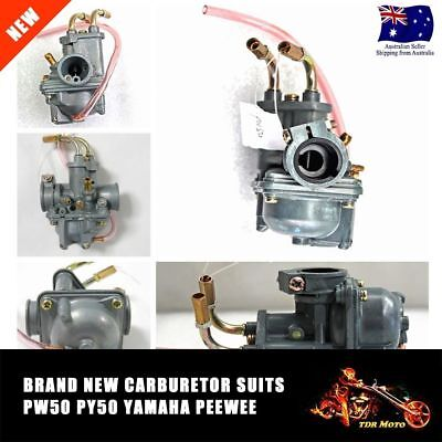 For YAMAHA PW50 PEEWEE 81-14 CARBURETOR ASSEMBLEY CARBY CARB PeeWee 50 PY50 PW50
