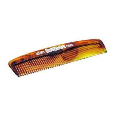King Brown Pocket Comb Tortoiseshell Hair Mens Rockabilly Retro Tattoo Barber