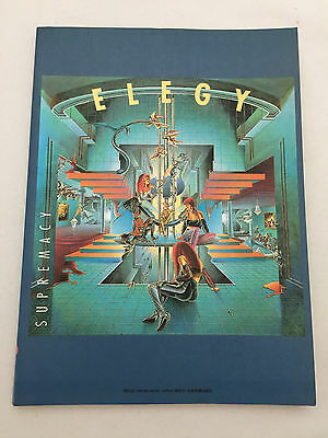 ELEGY -Supremacy- JAPAN Band Score Guitar Bass Drum TAB Songbook Sheet Music